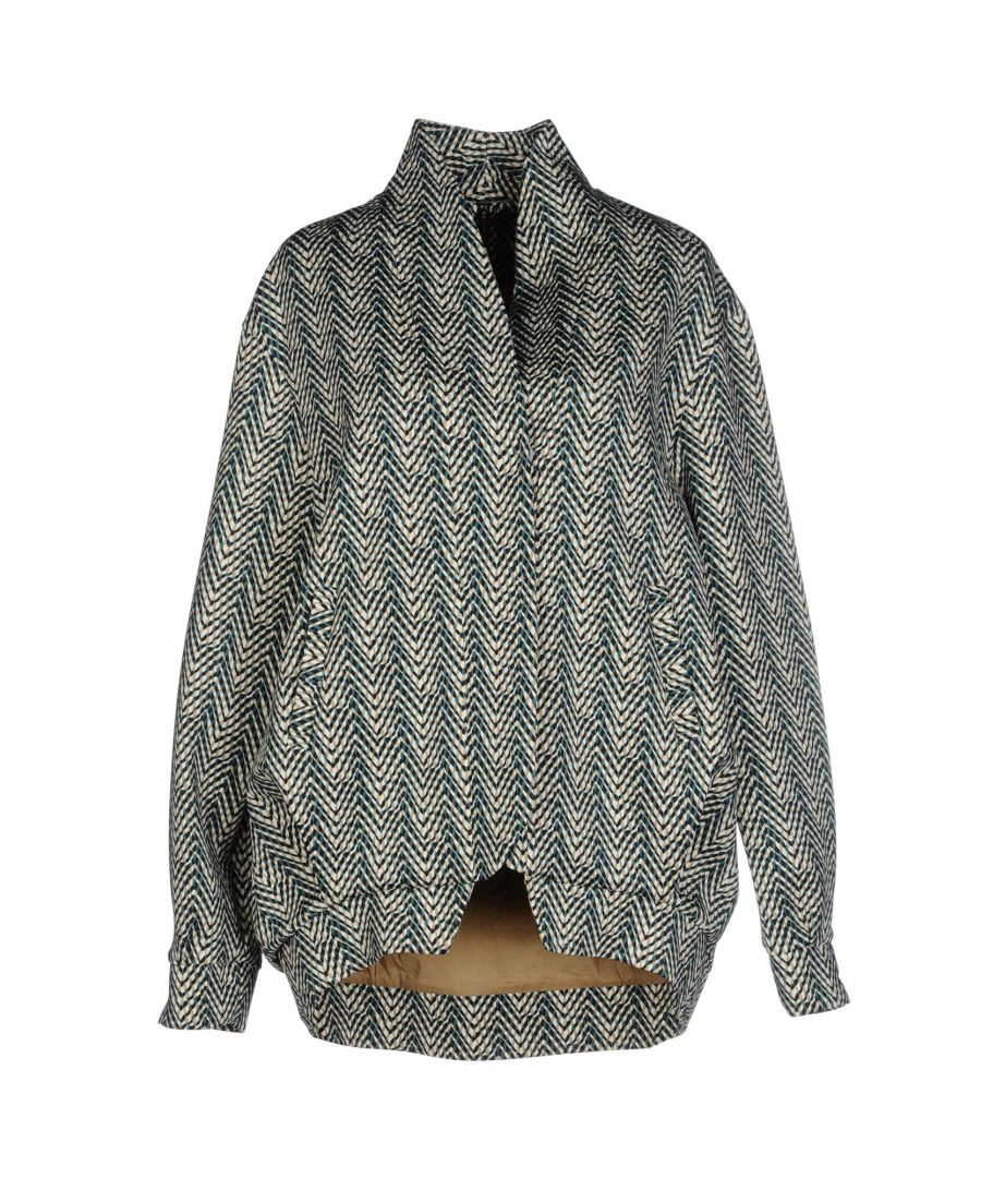 Image for Manila Grace Beige Print Jacket