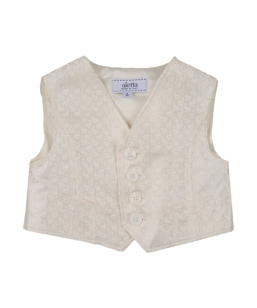 Image for SUITS AND JACKETS Boy Aletta Ivory Polyester