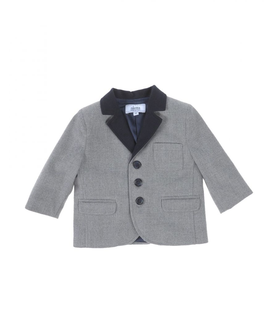 Image for SUITS AND JACKETS Aletta Light grey Boy Wool