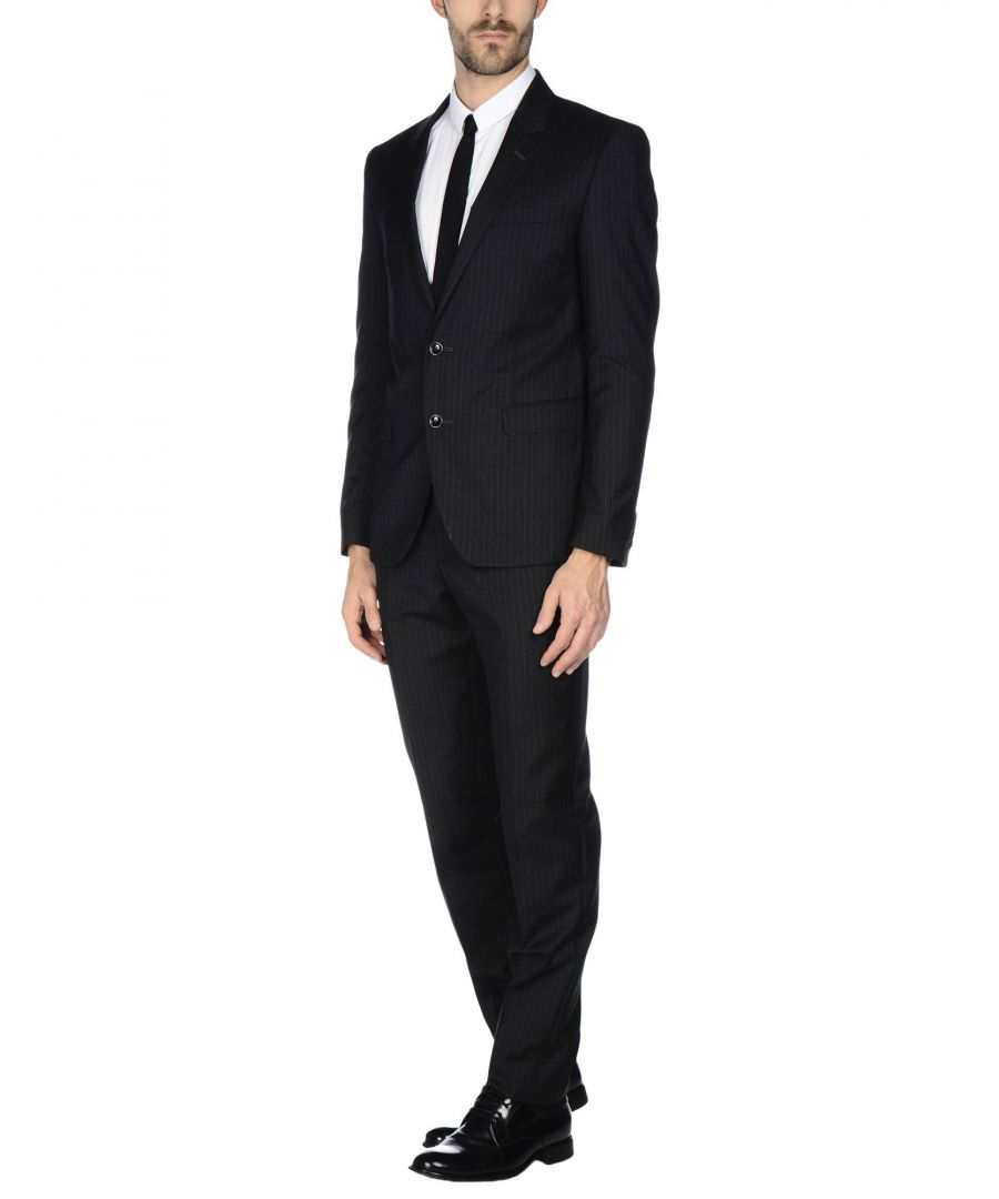 Image for Tru Trussardi Steel Grey Virgin Wool Single Breasted Suit