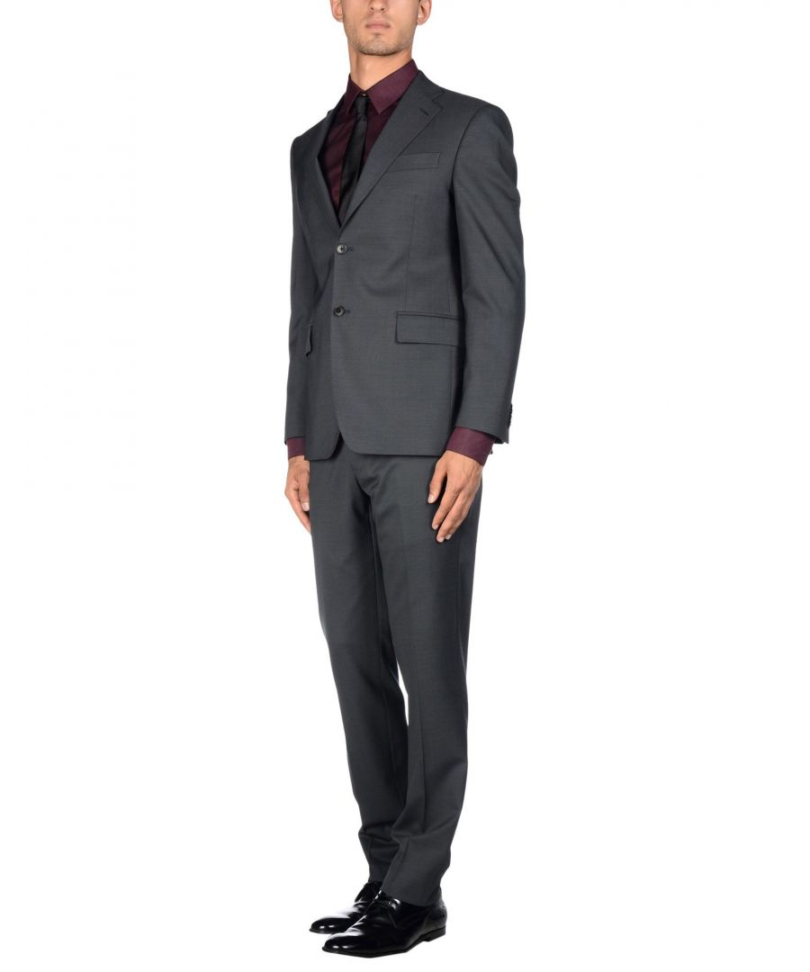 Image for Cerruti 1881 Man Suits Lead Wool