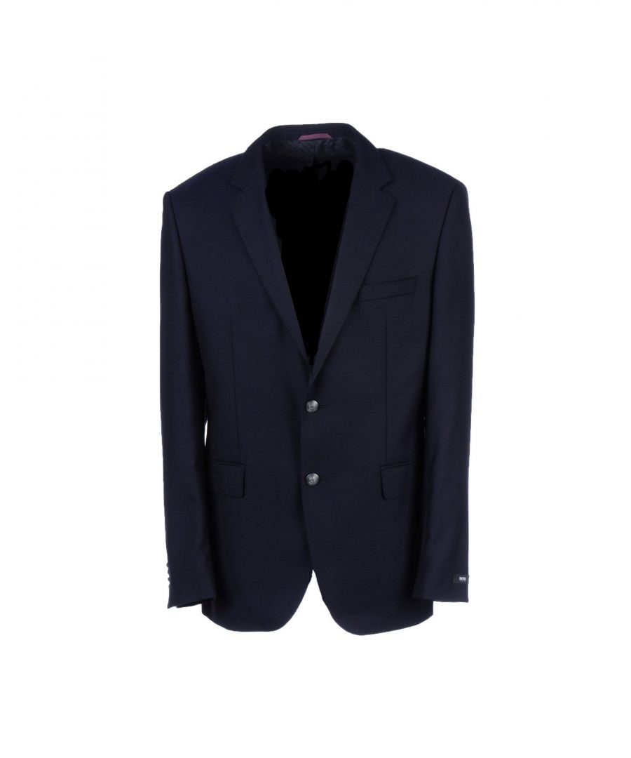 Image for SUITS AND JACKETS Boss Hugo Boss Dark blue Man Virgin Wool