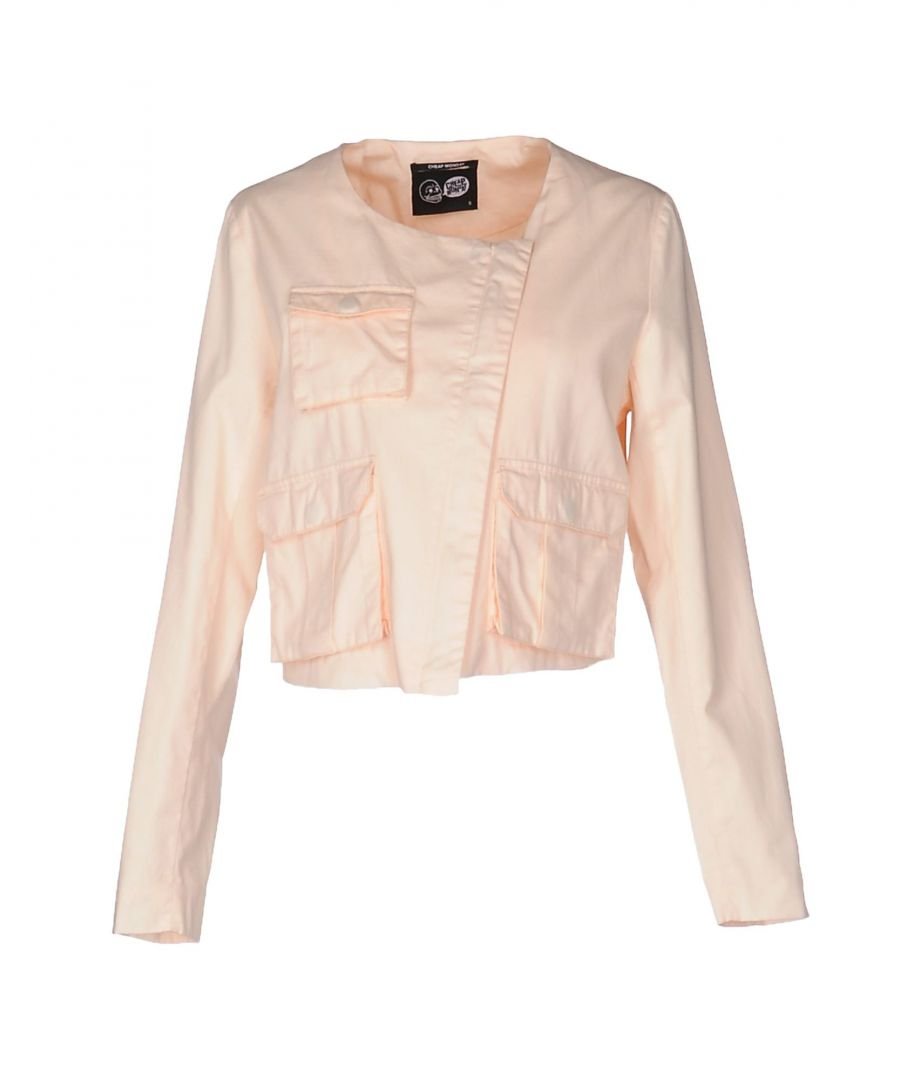 Image for Cheap Monday Light Pink Cotton Jacket