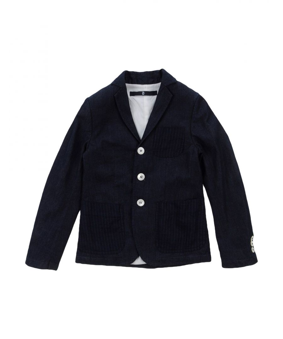 Image for SUITS AND JACKETS Dondup Dark blue Boy Cotton