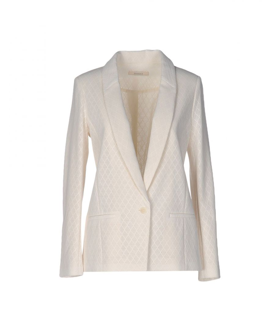 Image for Sessun Ivory Cotton Single Breasted Jacket