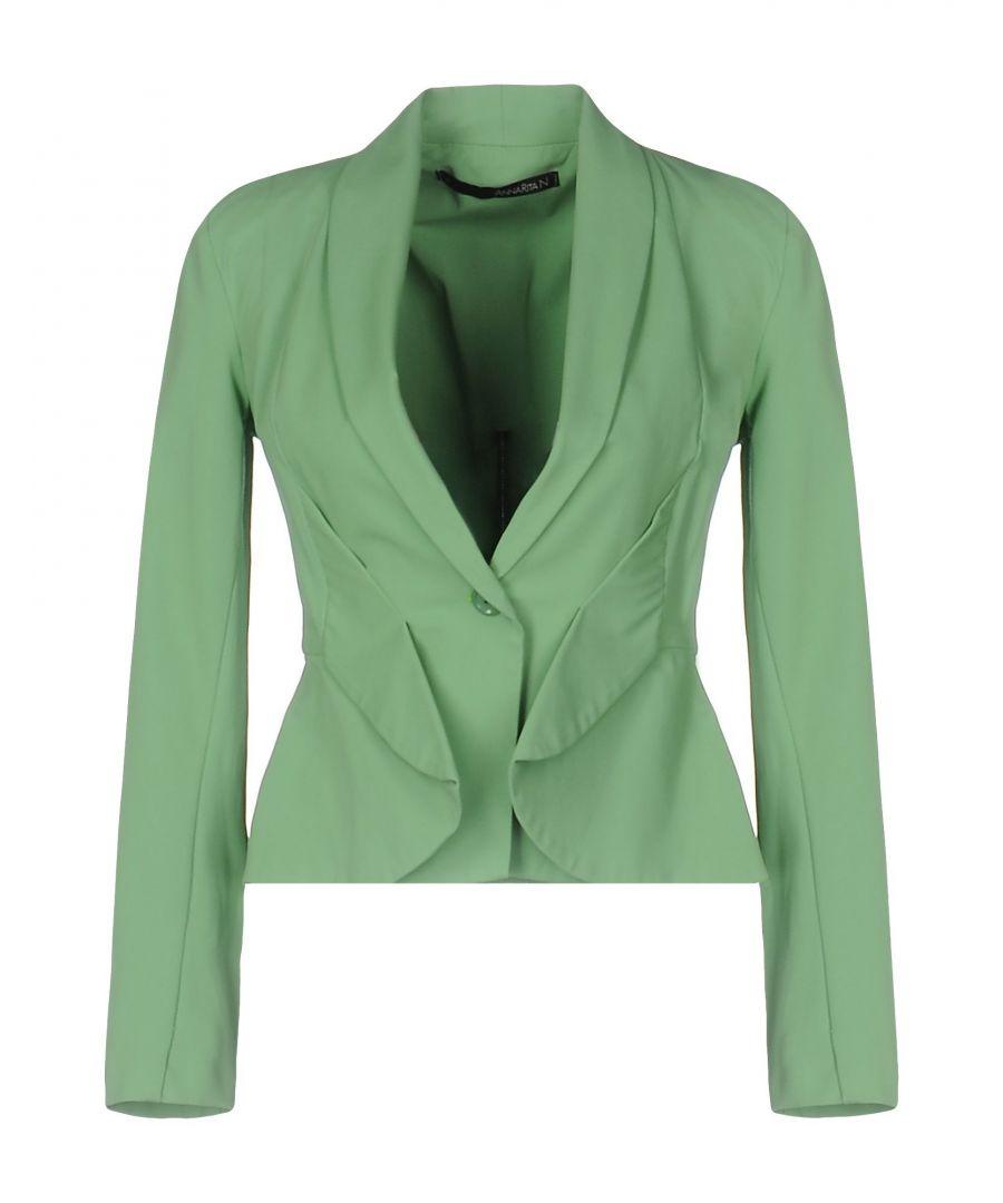 Image for Annarita N Green Single Breasted Jacket