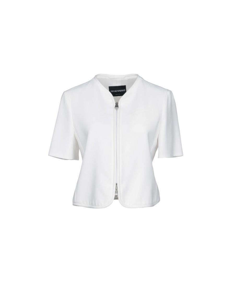 Image for Emporio Armani Ivory Short Sleeve Jacket