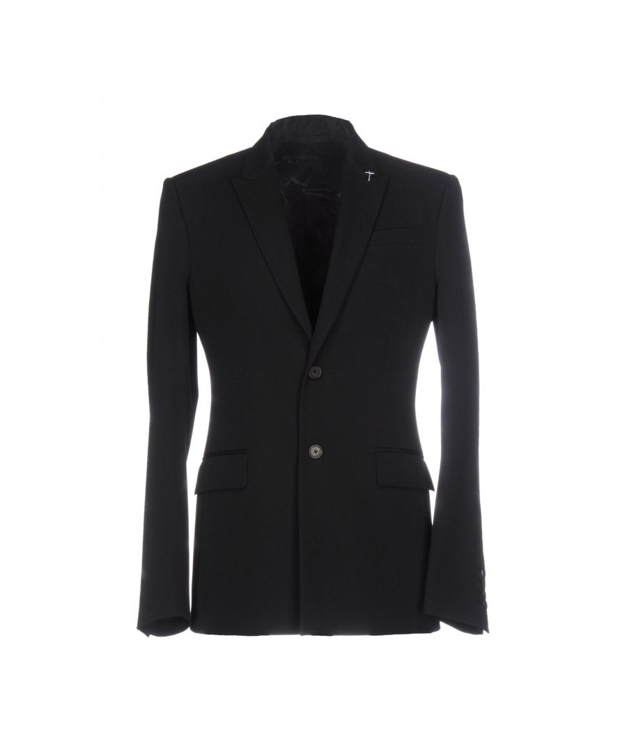 Image for Givenchy Black Wool Single Breasted Jacket