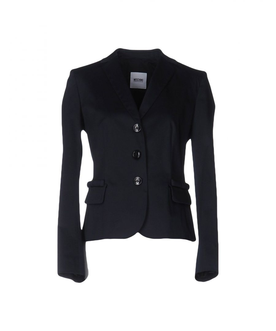 Image for Moschino Cheap And Chic Dark Blue Cotton Jacket