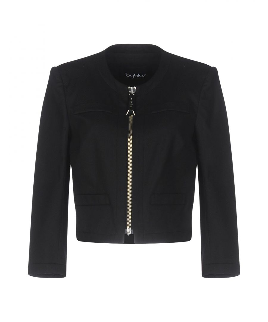 Image for Byblos Black Cotton Jacket