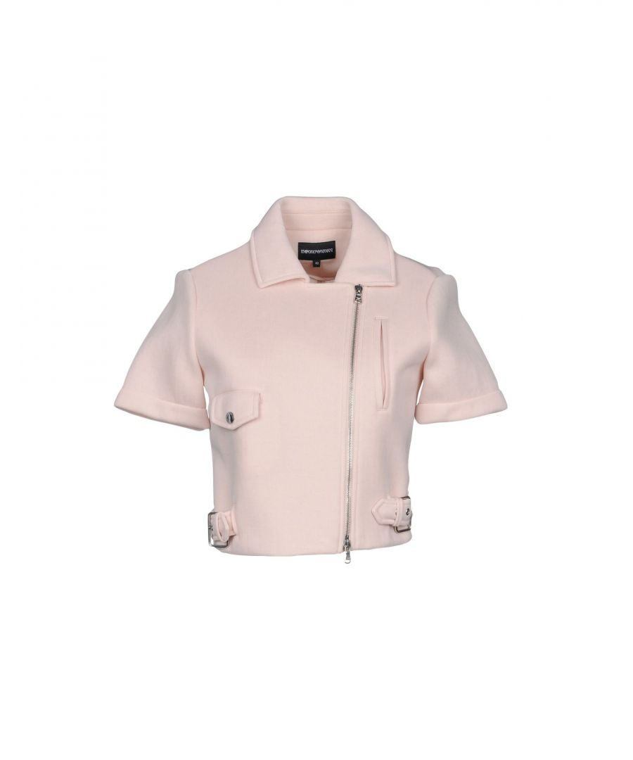 Image for Emporio Armani Light Pink Cotton Jacket
