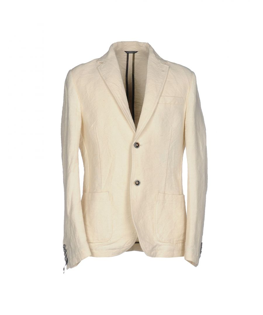 Image for Daniele Alessandrini Beige Jute Single Breasted Jacket