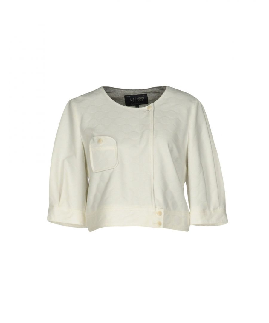 Image for Armani Jeans White Polyester Jacket