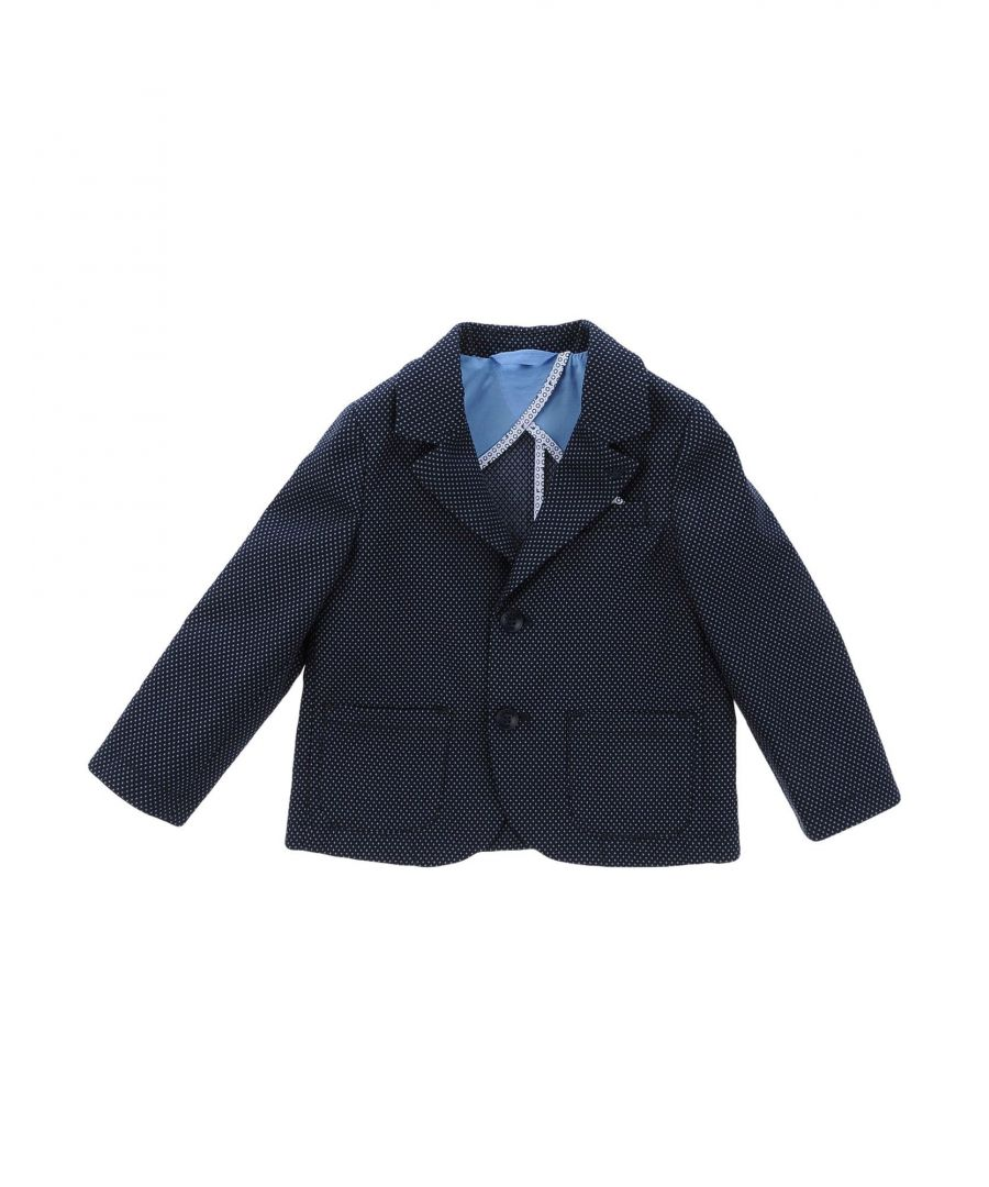 Image for SUITS AND JACKETS Boy Armani Junior Dark blue Cotton