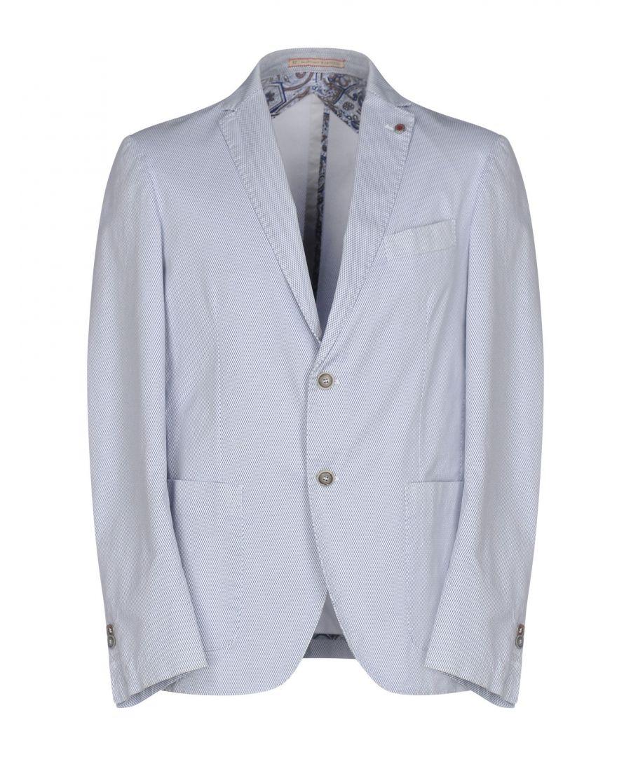 Image for Massimo Rebecchi White Cotton Single Breasted Jacket