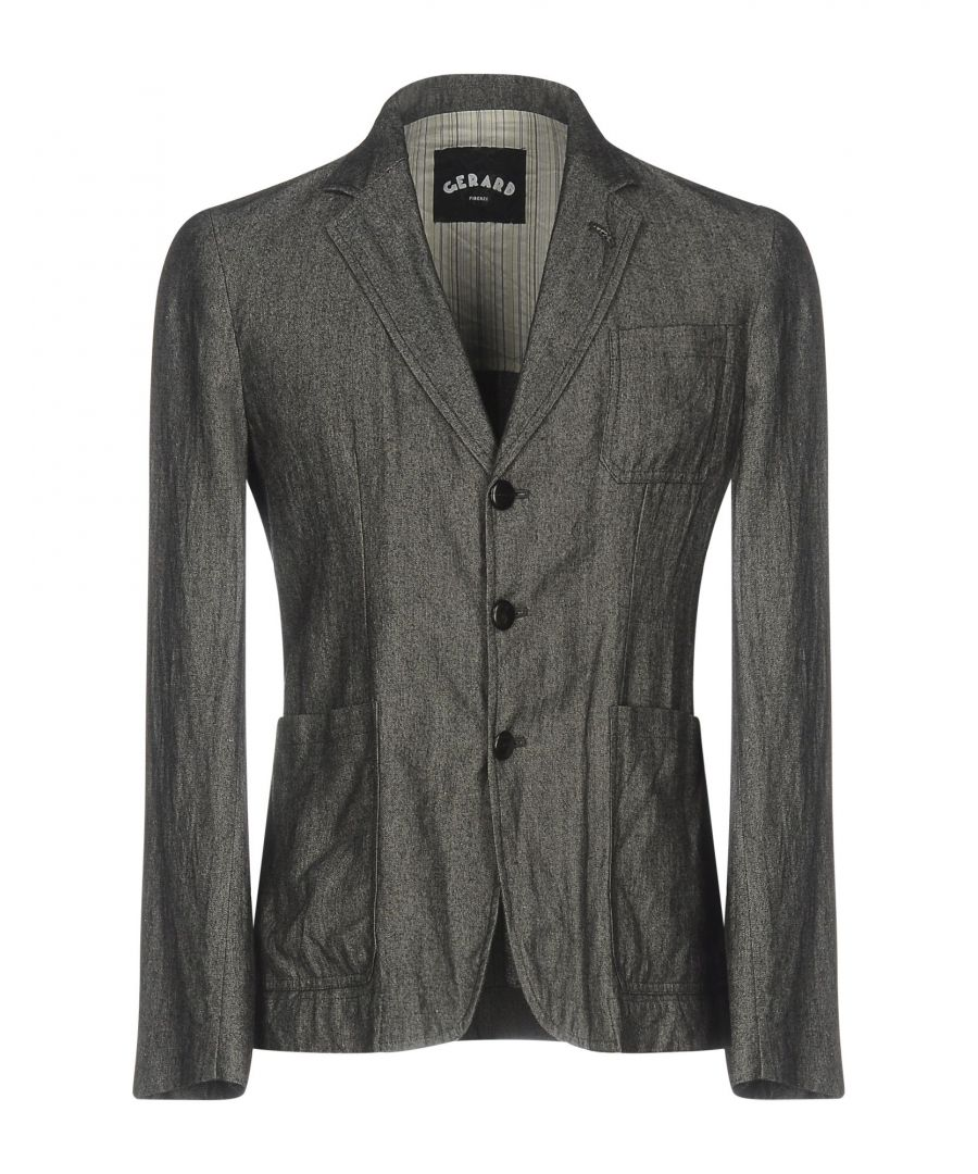 Image for Gerard Grey Wool Single Breasted Jacket
