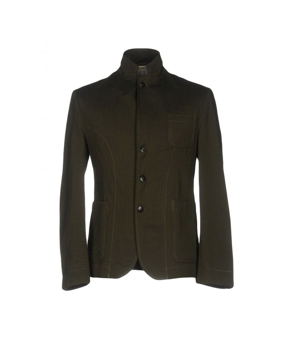 Image for SUITS AND JACKETS Gerard Dark green Man Wool
