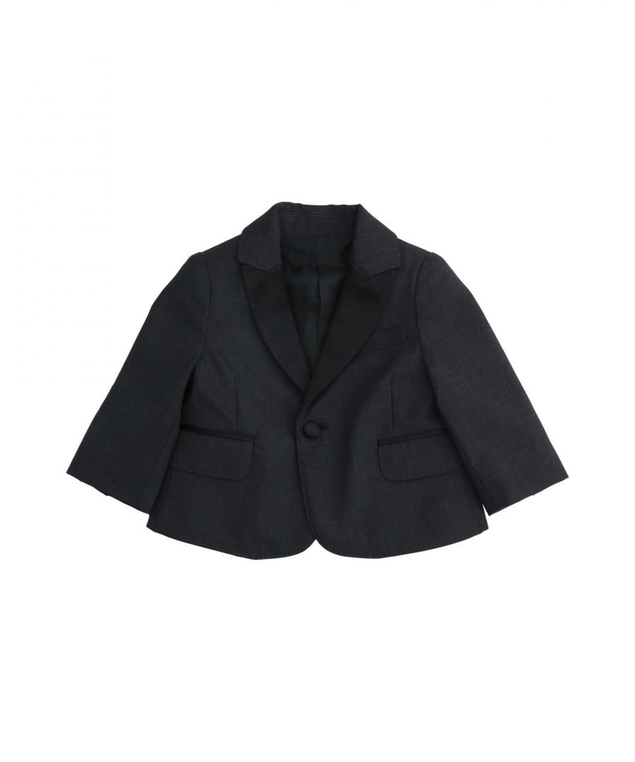 Image for SUITS AND JACKETS Boy Dolce & Gabbana Steel grey Virgin Wool