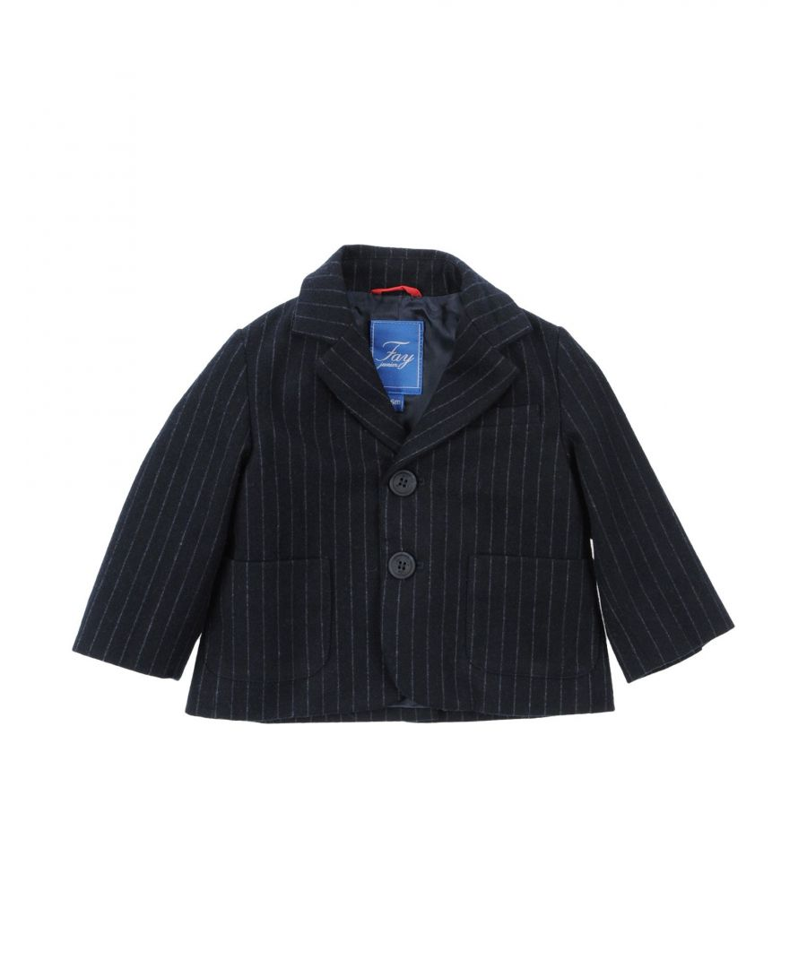 Image for SUITS AND JACKETS Fay Dark blue Boy Polyester
