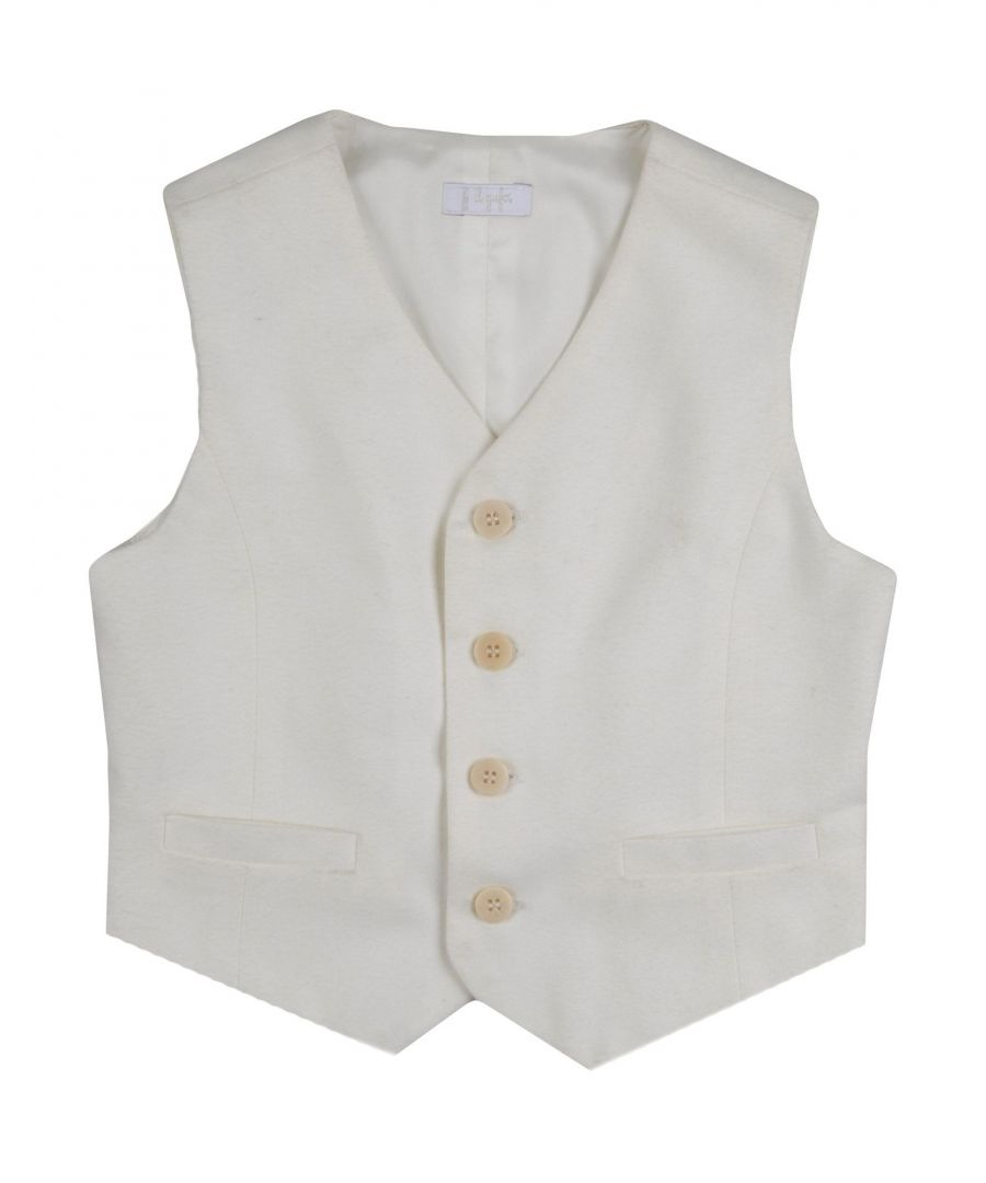 Image for SUITS AND JACKETS Il Gufo White Boy Polyester