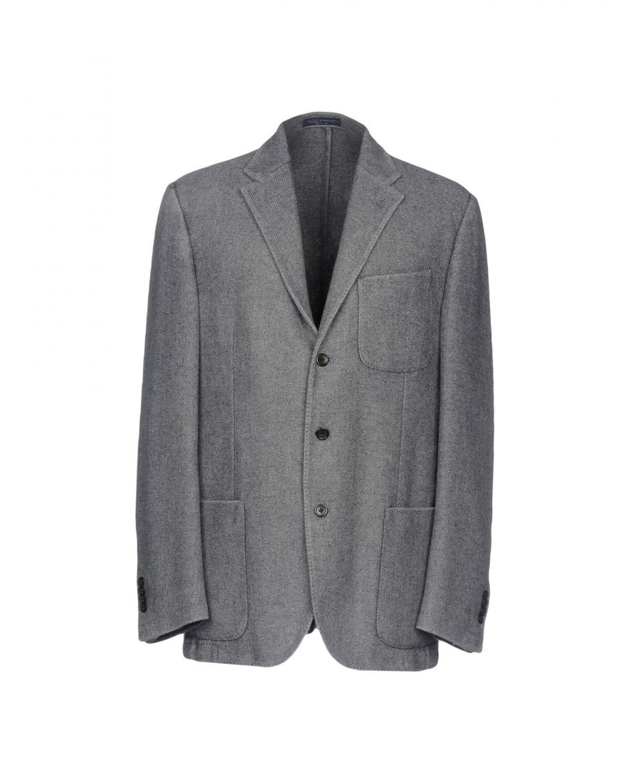 Image for Polo Ralph Lauren Light Grey Wool Tweed Single Breasted Jacket