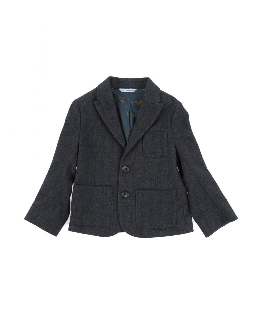Image for SUITS AND JACKETS Dolce & Gabbana Steel grey Boy Cotton