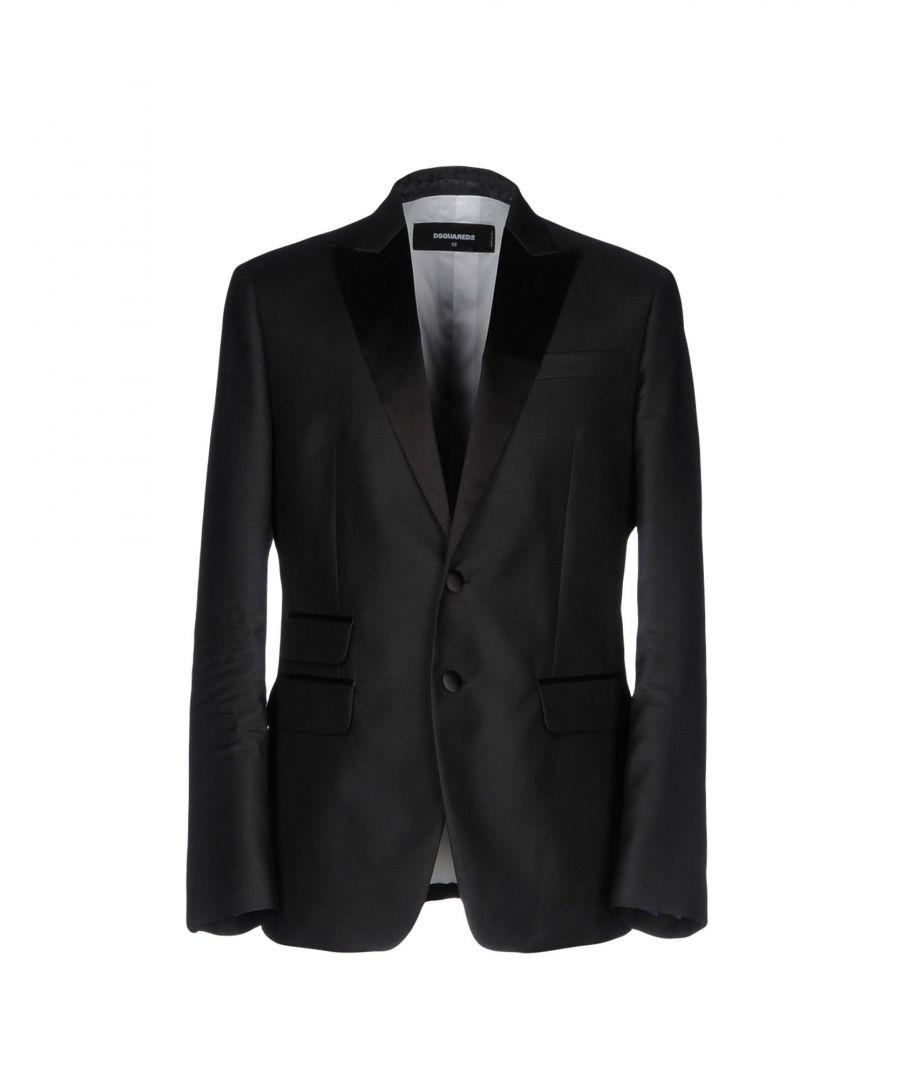 Image for Dsquared2 Black Virgin Wool Jacket