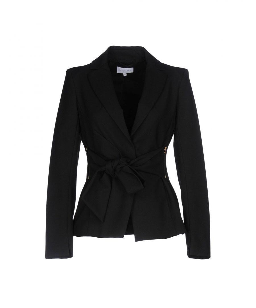 Image for Patrizia Pepe Black Single Breasted Jacket