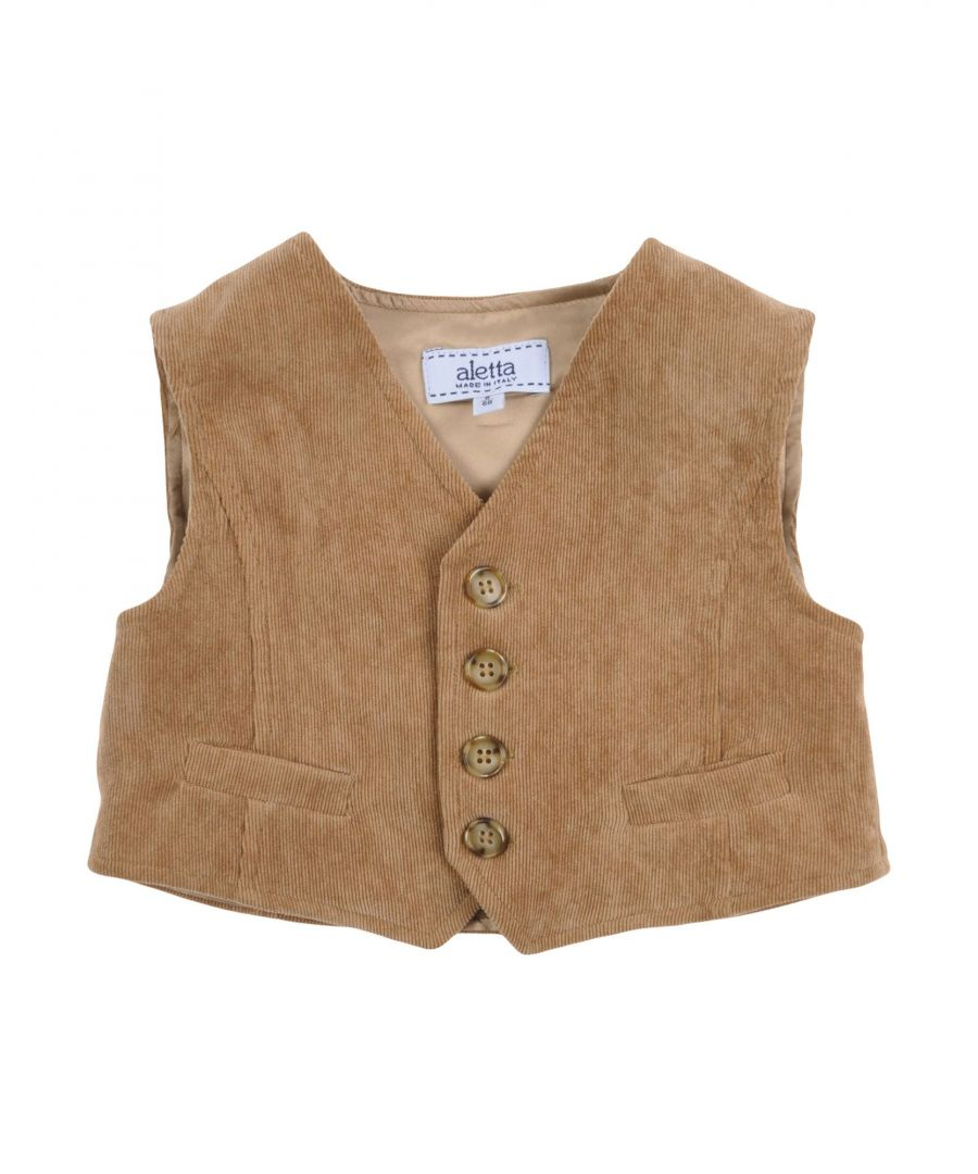 Image for SUITS AND JACKETS Boy Aletta Camel Polyester
