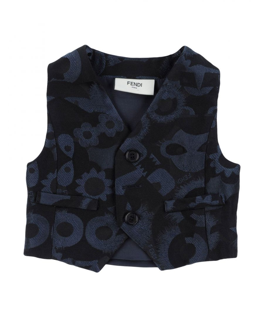 Image for SUITS AND JACKETS Fendi Dark blue Boy Polyester