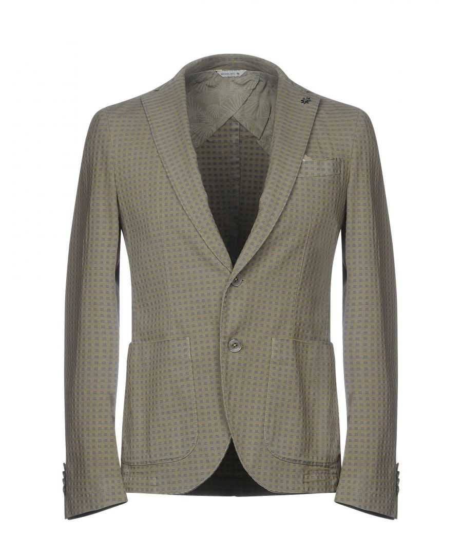 Image for Manuel Ritz Beige Cotton Twill Single Breasted Jacket