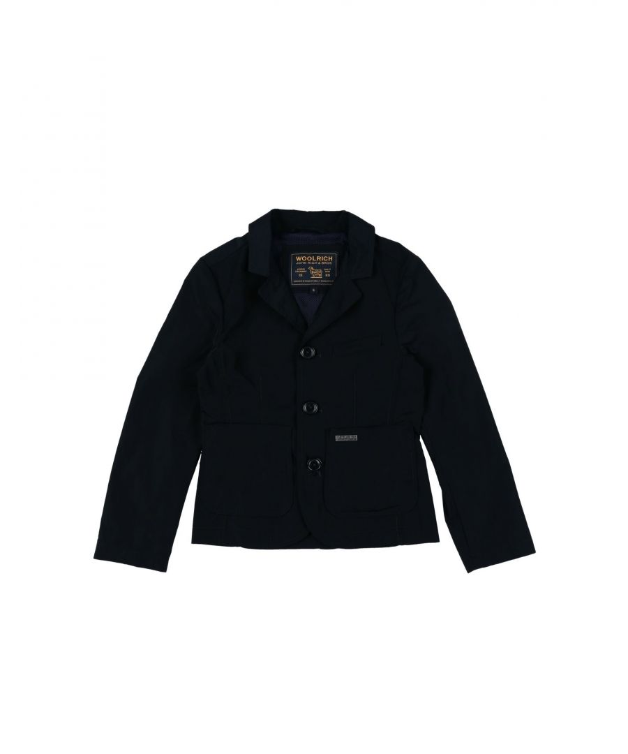 Image for SUITS AND JACKETS Woolrich Black Boy Polyester