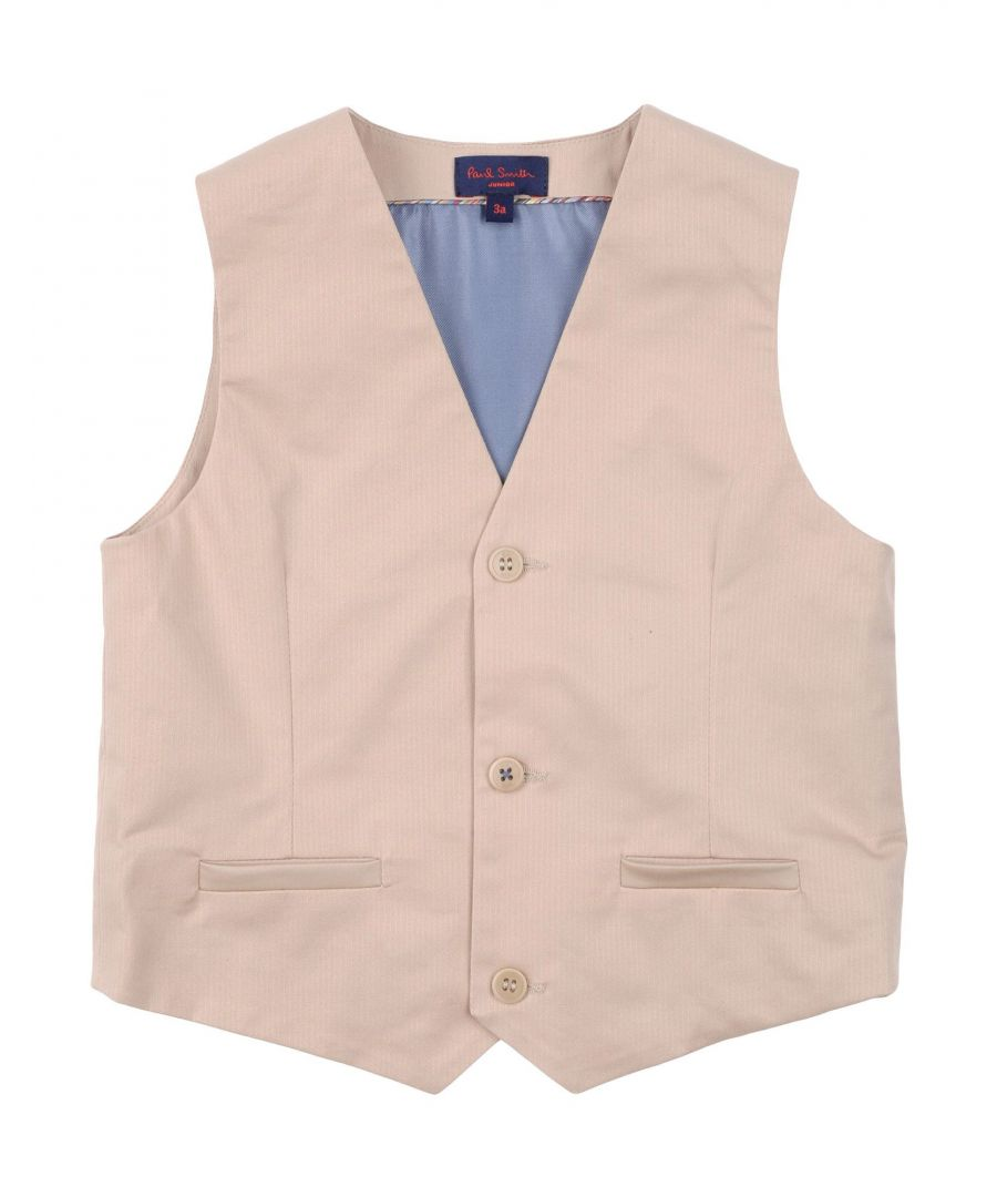 Image for SUITS AND JACKETS Paul Smith Beige Boy Cotton