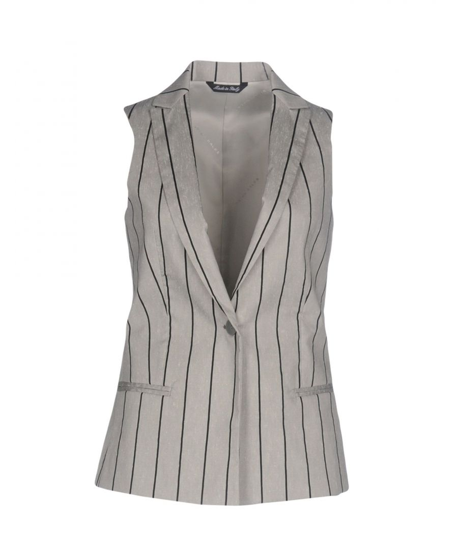 Image for SUITS AND JACKETS Brian Dales Light grey Woman Cotton
