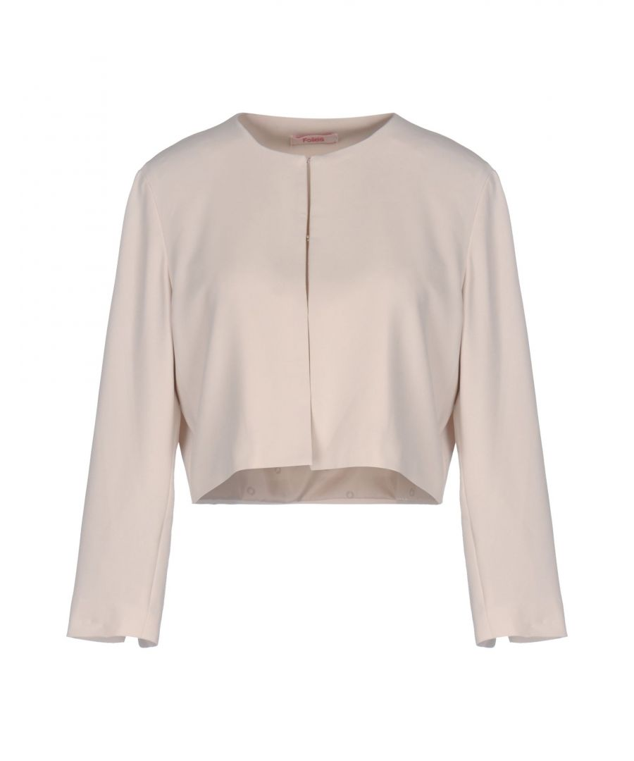 Image for Blugirl Blumarine Beige Crepe Jacket