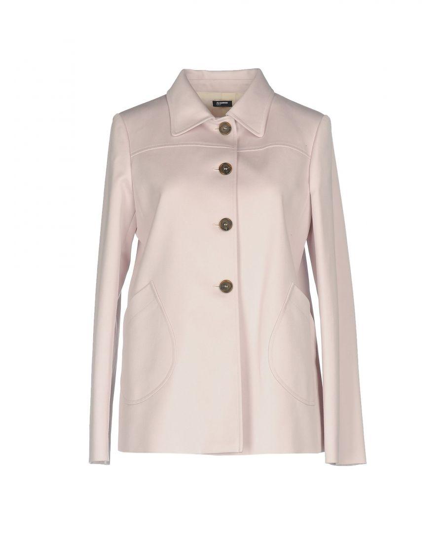 Image for Jil Sander Navy Pink Cotton Classic Jacket