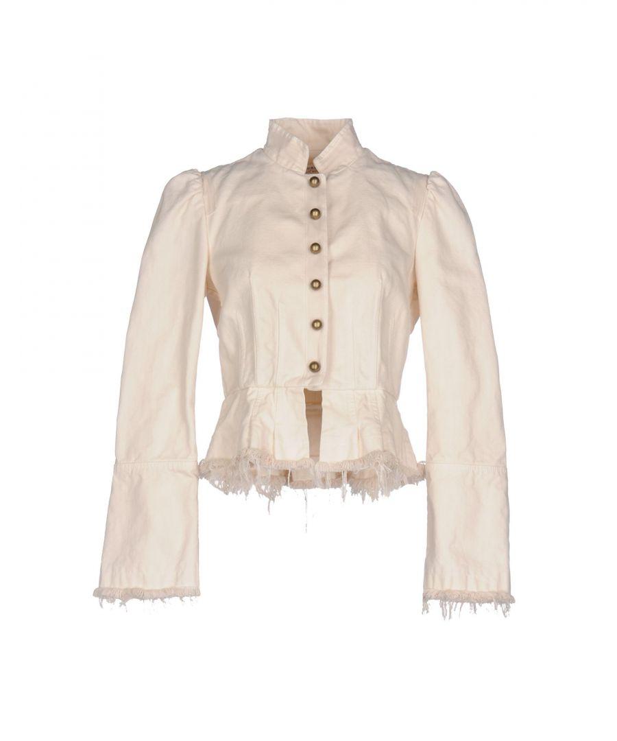 Image for Philosophy Di Lorenzo Serafini Ivory Cotton Jacket