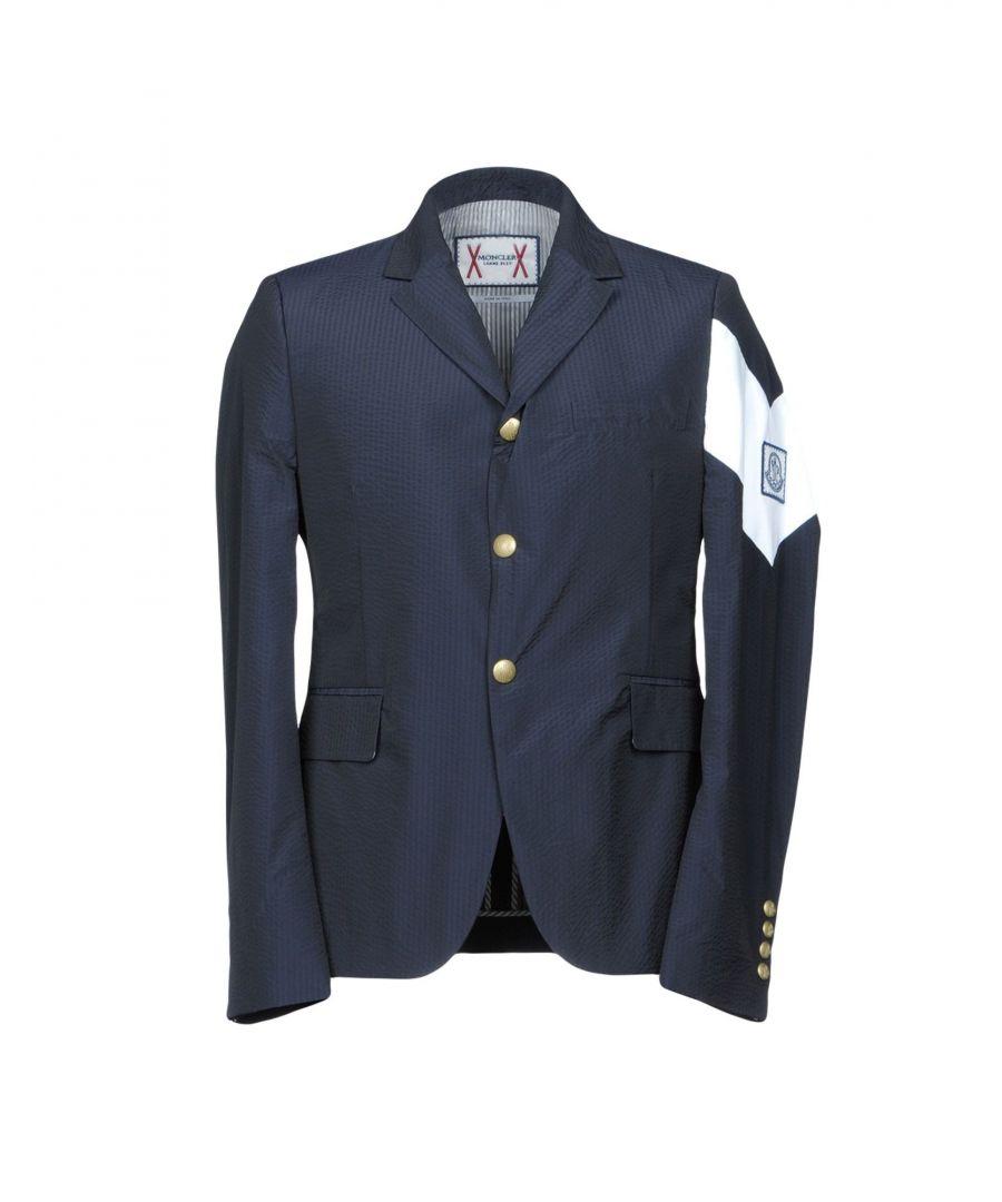 Image for Moncler Gamme Bleu Dark Blue Single Breasted Jacket