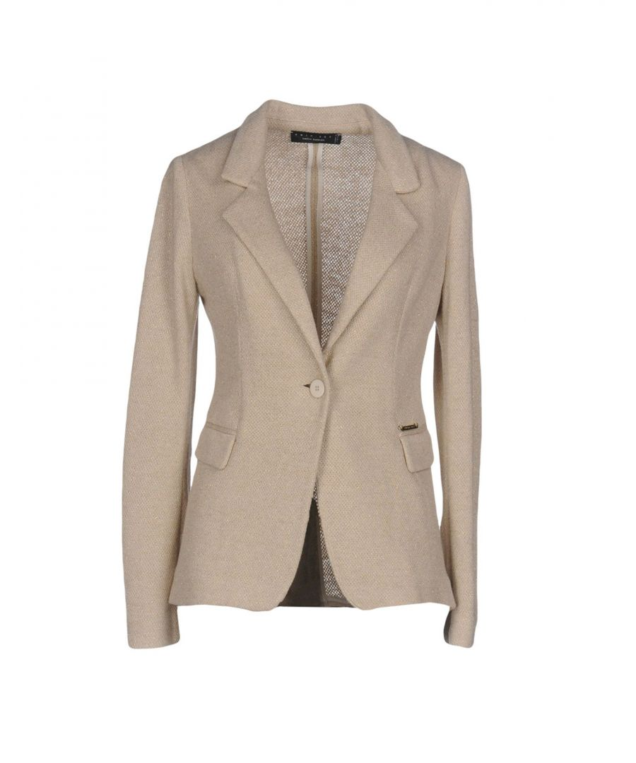 Image for SUITS AND JACKETS Twinset Beige Woman Polyester