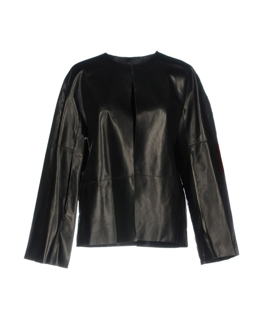 Image for SUITS AND JACKETS Federica Tosi Black Woman Leather