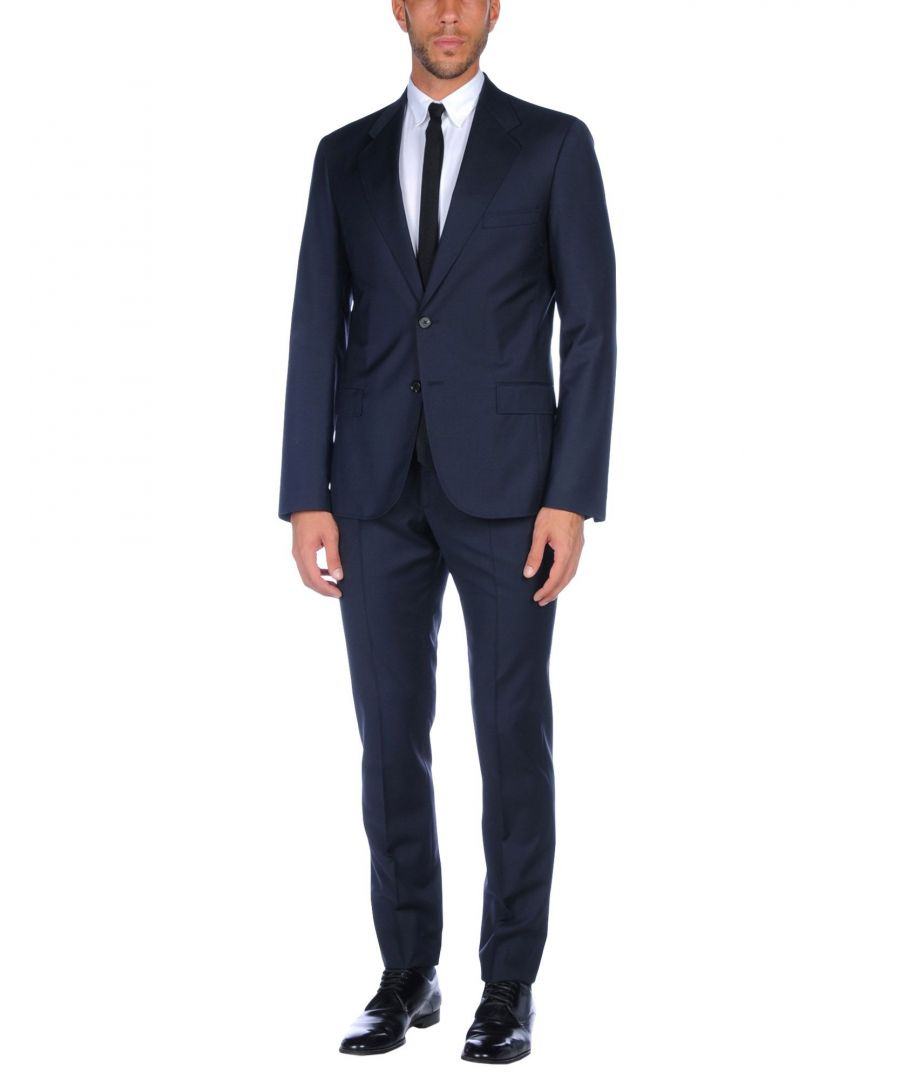 Image for Maison Margiela Dark Blue Virgin Wool Single Breasted Suit