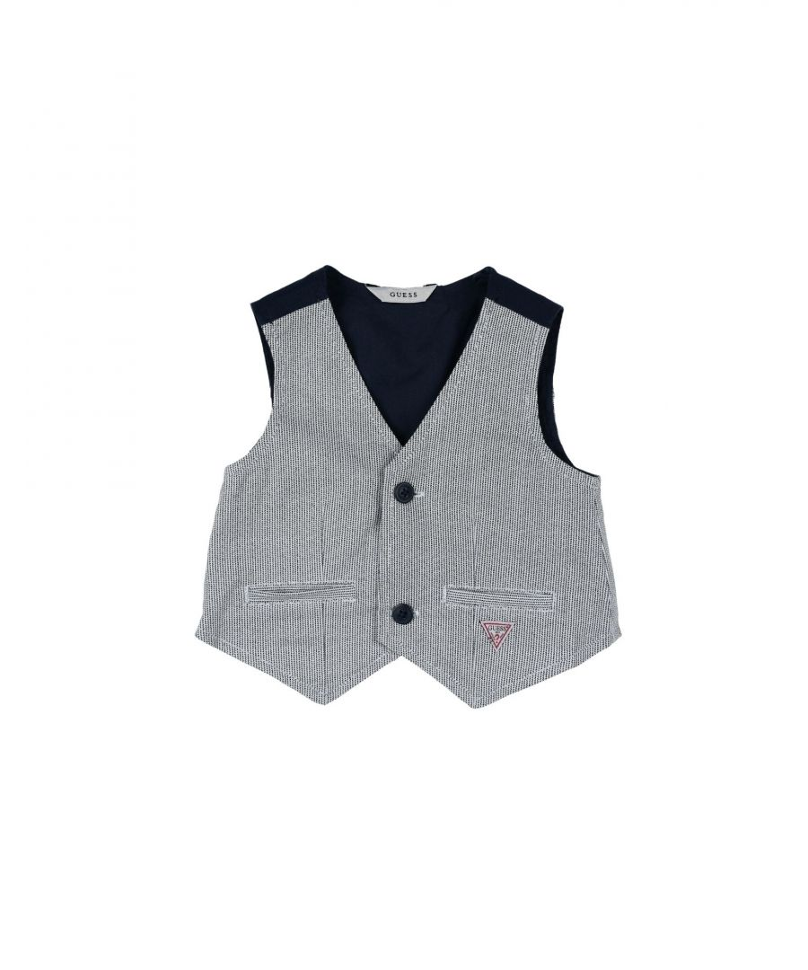 Image for SUITS AND JACKETS Guess White Boy Cotton
