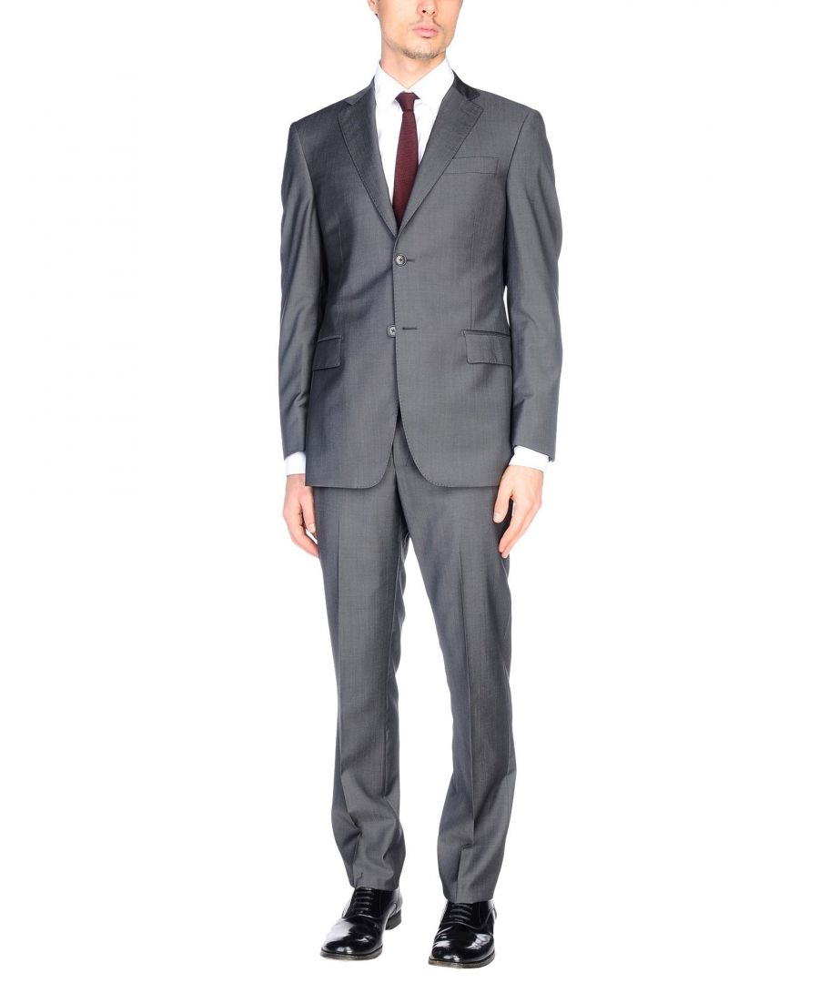 Image for SUITS AND JACKETS Pierre Balmain Steel grey Man Wool