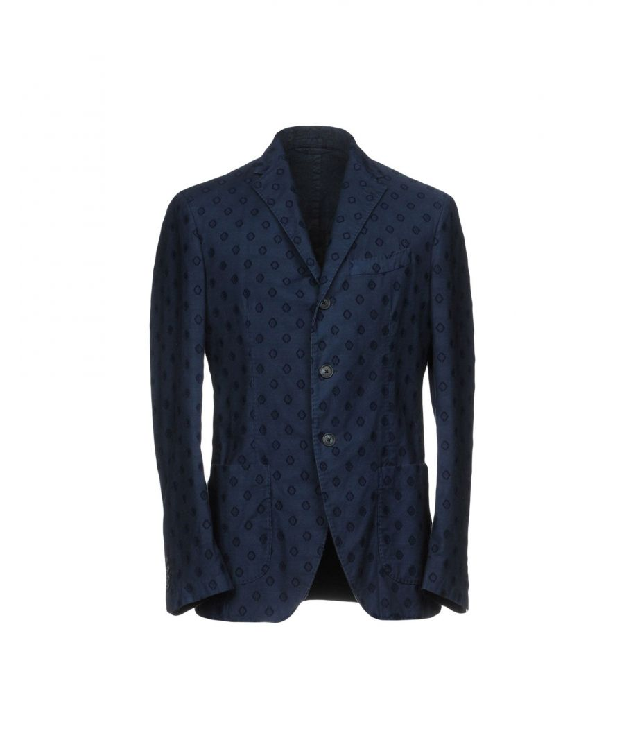 Image for Altea Dark Blue Cotton Single Breasted Jacket