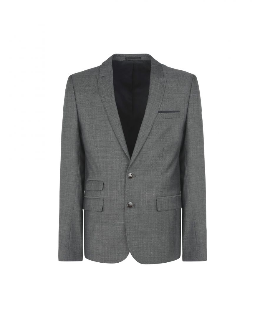 Image for SUITS AND JACKETS Man The Kooples Steel grey Wool