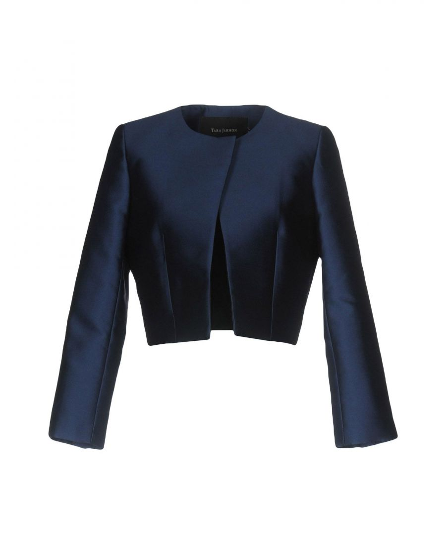 Image for SUITS AND JACKETS Tara Jarmon Dark blue Woman Polyester