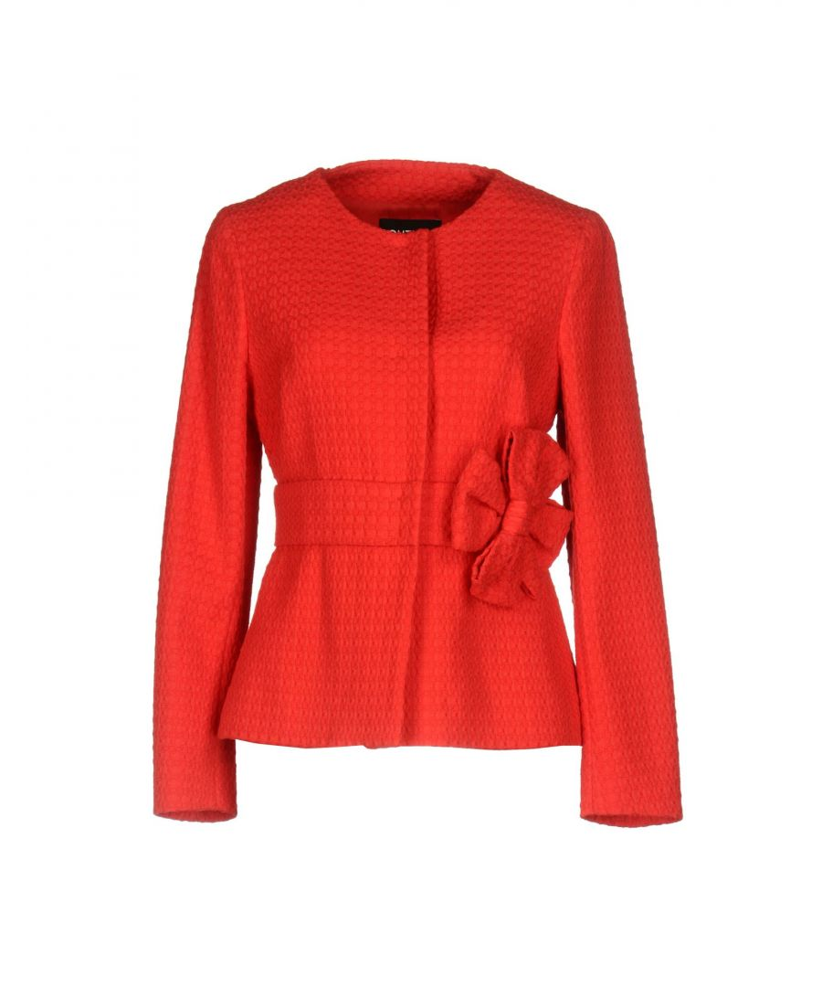 Image for Boutique Moschino Red Cotton Jacquard Jacket