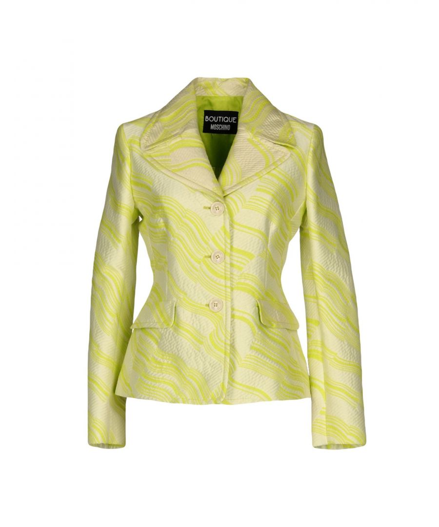 Image for Boutique Moschino Light Green Cotton Single Breasted Jacket