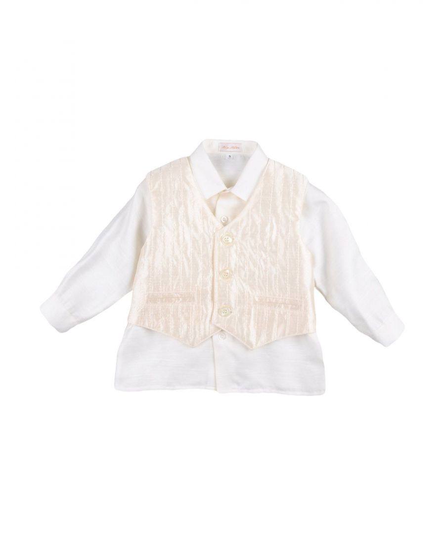 Image for SUITS AND JACKETS Aletta Ivory Boy Cotton