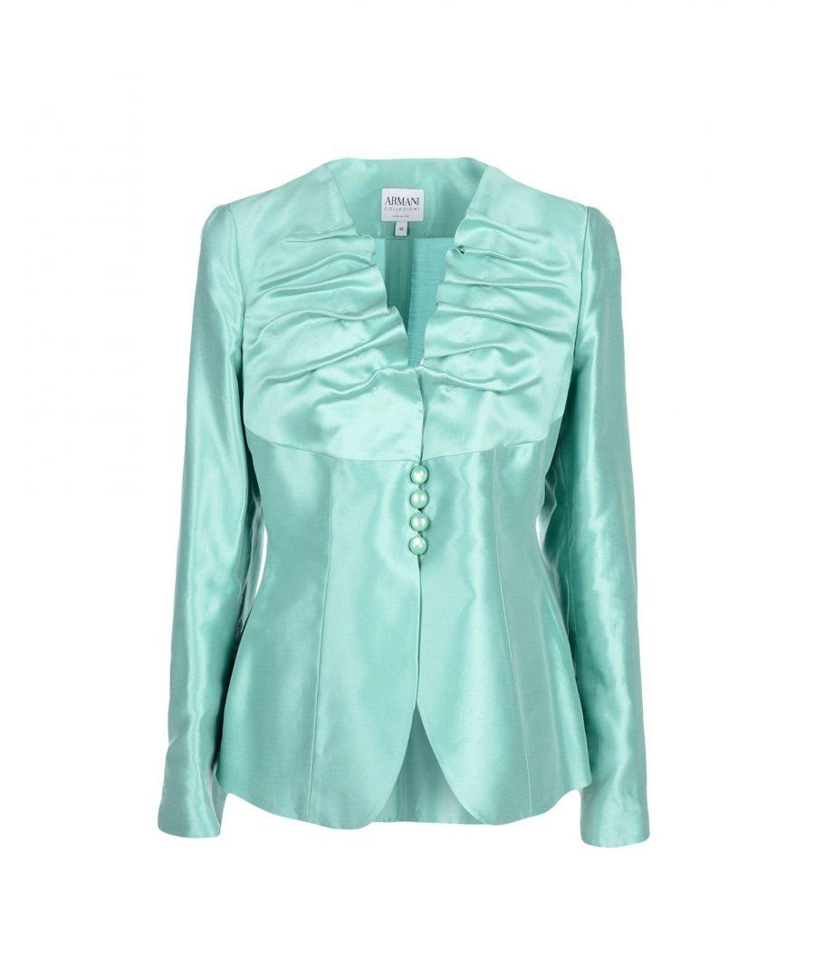 Image for Armani Collezioni Light Green Cotton Jacket